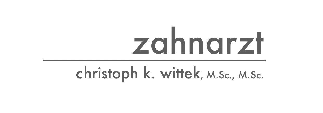 Zahnarzt Christoph K. Wittek M.Sc., M.Sc.
