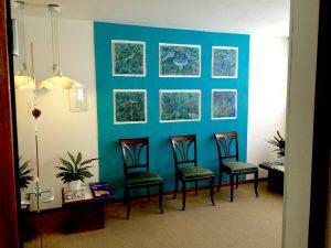 Zahnarztpraxis Wittek in Augsburg - Wartebereich